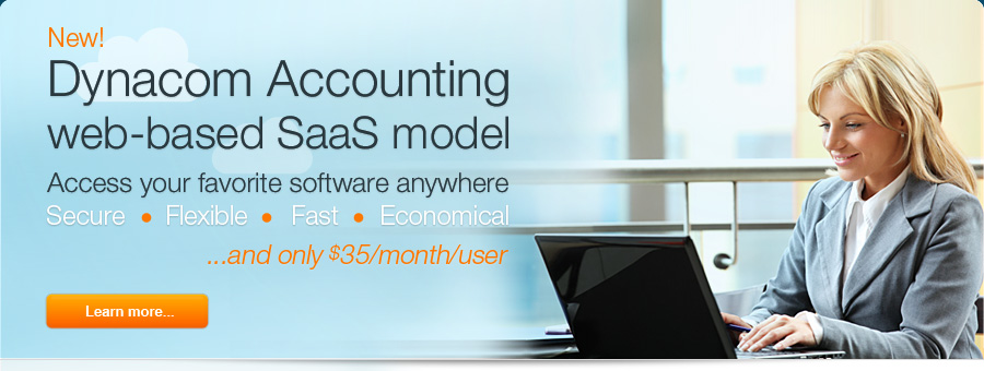 Accounting software SaaS delivery model